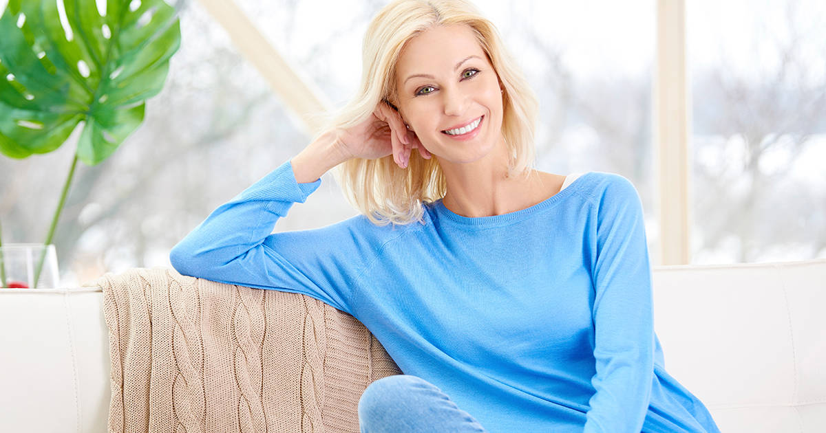 smiling female benefits of life coaching