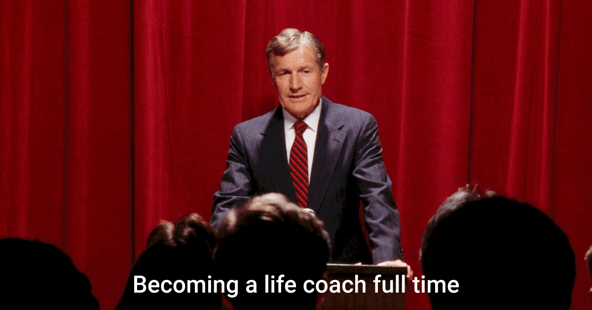 becoming a coach full time