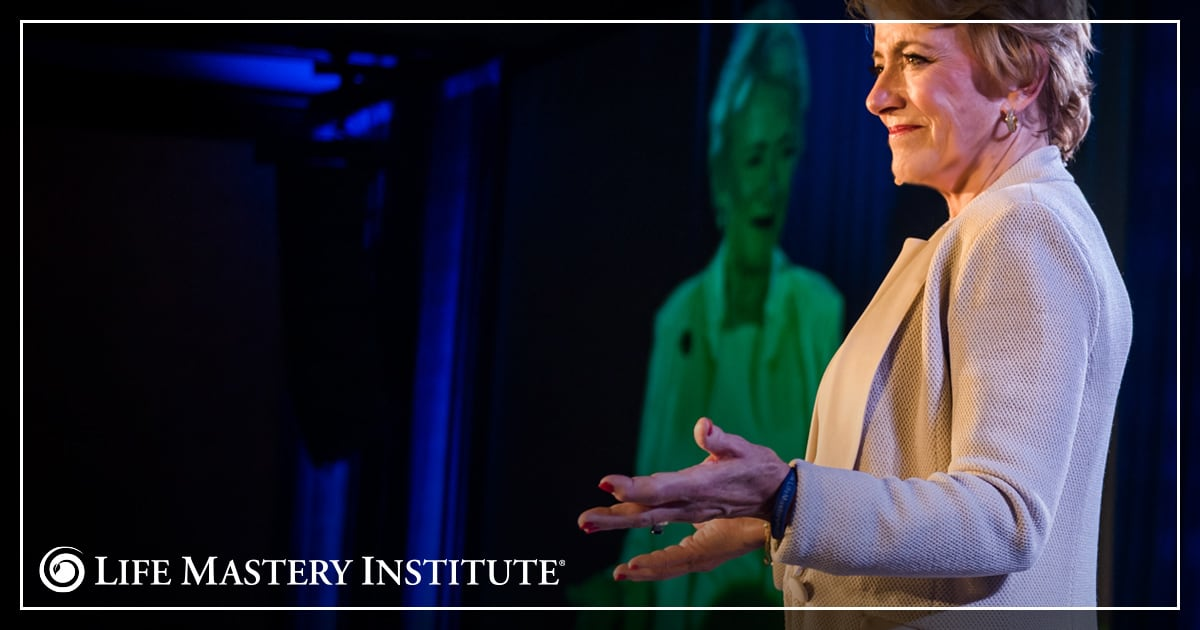 public speaking tips mary morrissey praying