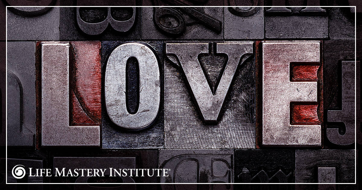 the power of words love