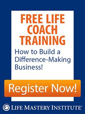 free life coach training sidebar banner