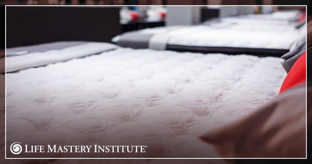 sales technique mattress story