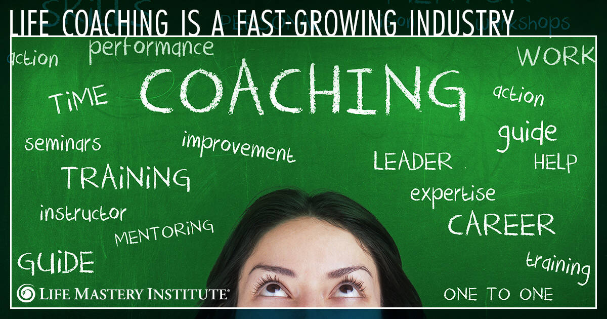 fastest growing industries life coach