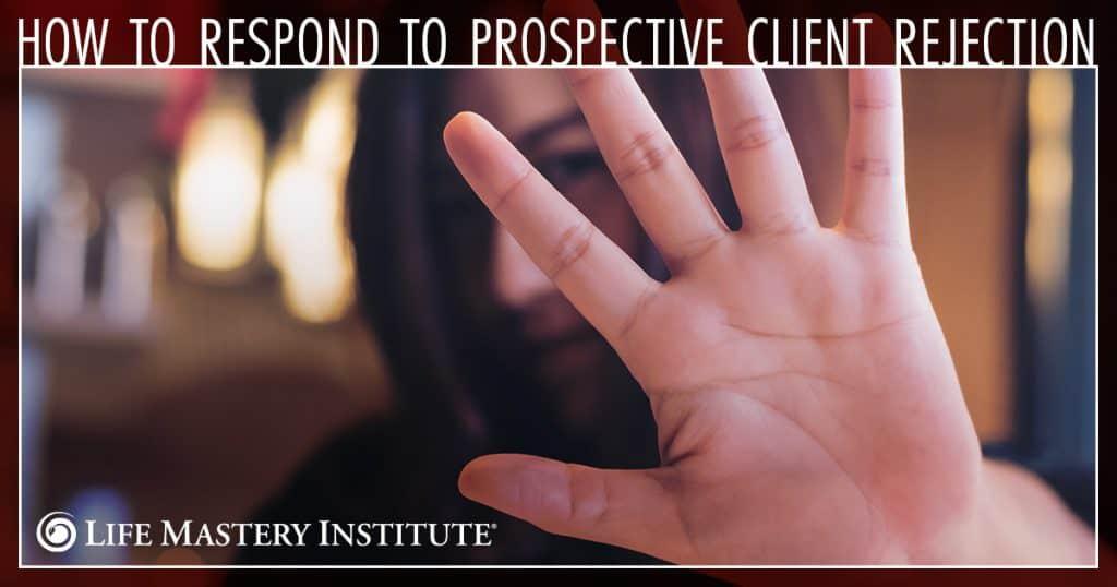 client rejection hand