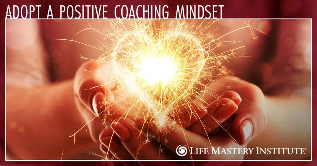 positive coaching mindset heart