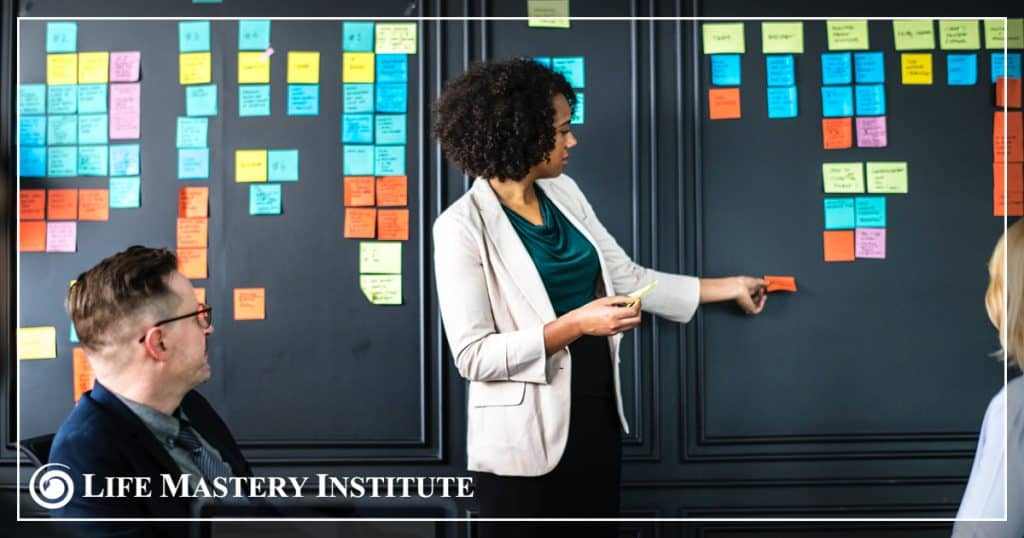 what-is-executive-coaching-sticky-notes
