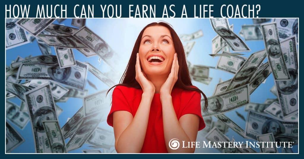 life coach earning