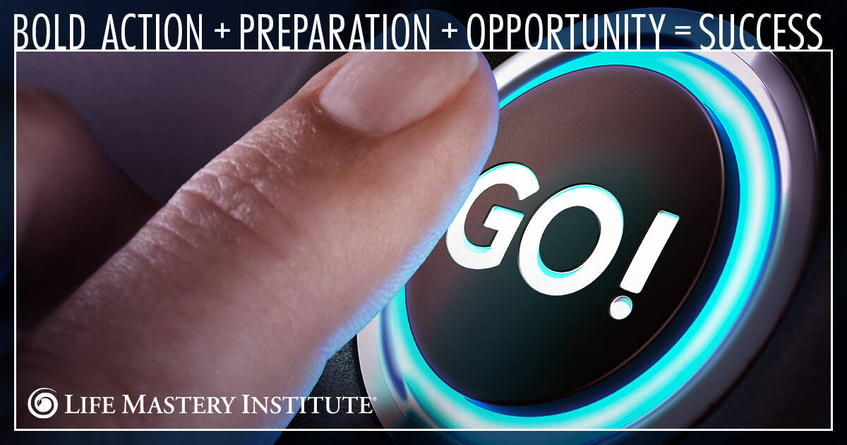 success is where preparation meets opportunity