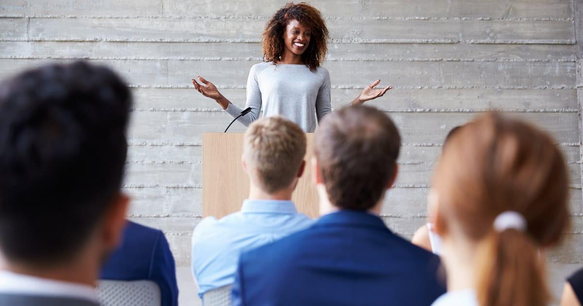 presentation skills training talk
