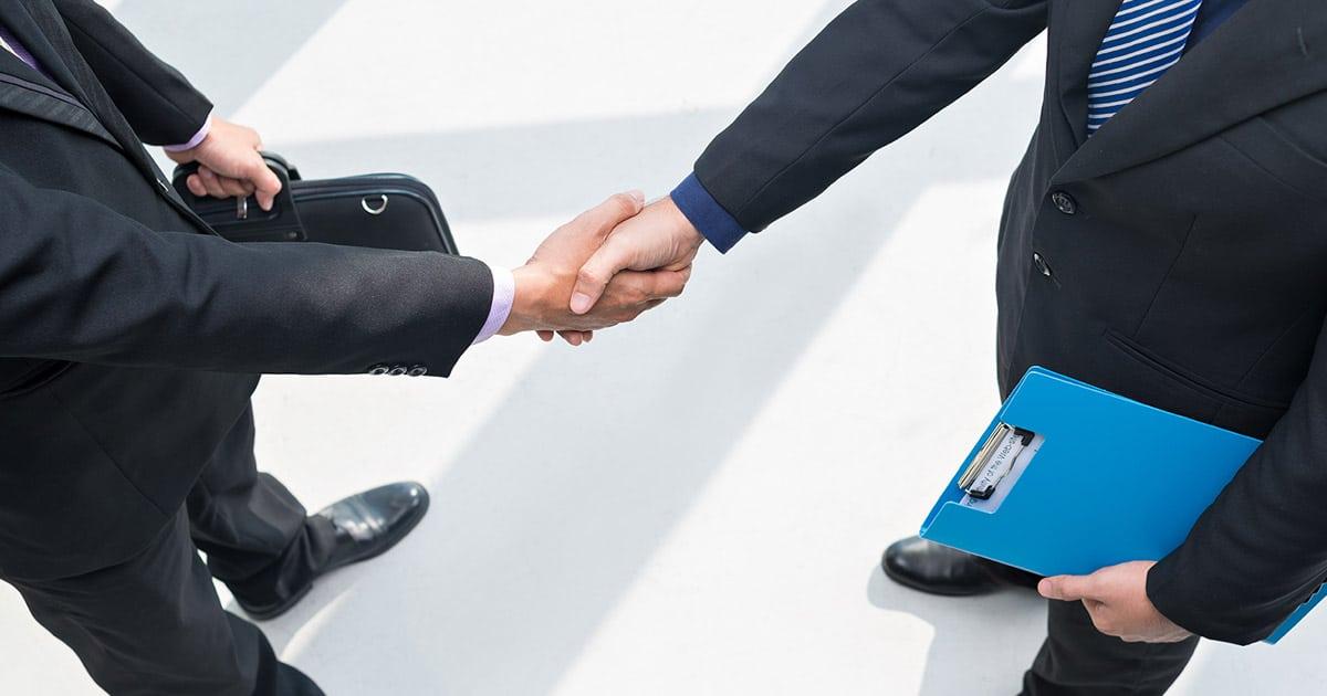 sales mistake handshake