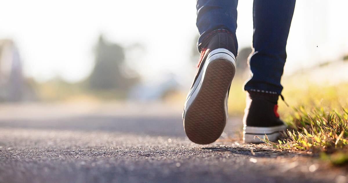 get inspired walking